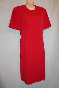 Rena Rowan Red vintage dress