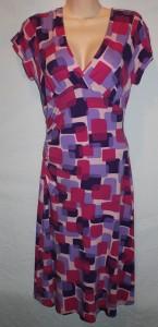 Geometric cube dress