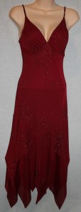 Red XI glitter dress