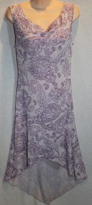 Vintage Charlotte Russe purple glitter dress