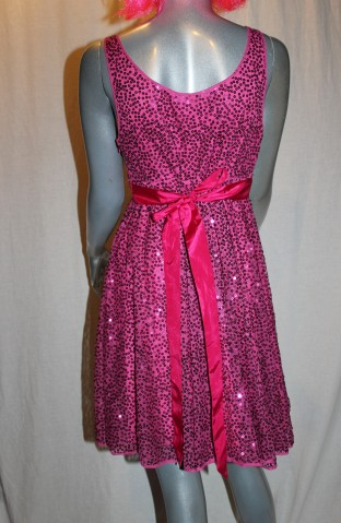 Betsey Johnson Sequin Babydoll Back